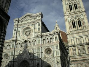 The Duomo of Florence, Italy.