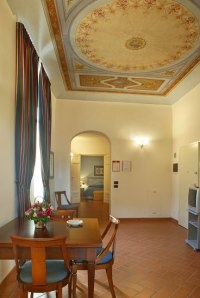 A combination of style and classic finishes await guests of Palazzo Gamba