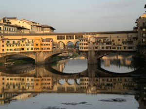 "The Ponte Vecchio means ""old bridge"" in English"
